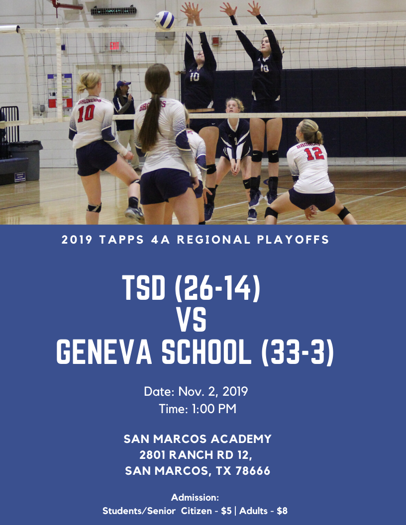 2019 TAPPS 4A Volleyball Playoffs (1)